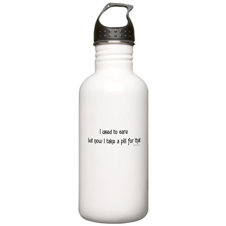 I used to care... Stainless Water Bottle 1.0L