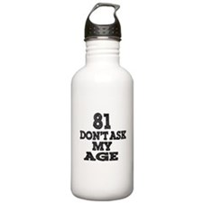 Identity Crisis Stainless Steel Water Bottle