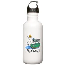 Fly Fishing Sports Water Bottle