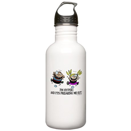 I'm Hyper! Stainless Water Bottle 1.0L