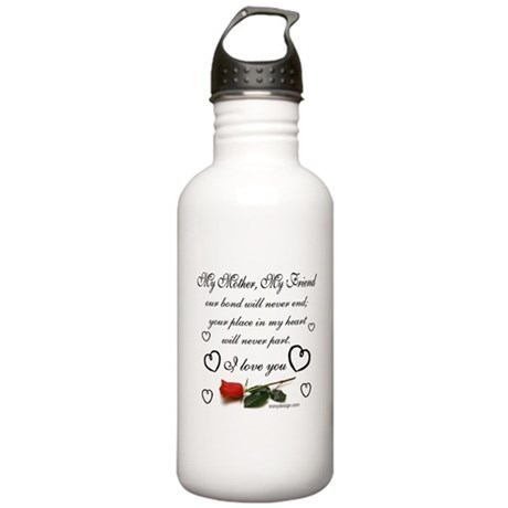My Mother, My Friend Stainless Water Bottle 1.0L