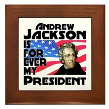 Andrew Jackson 4ever Framed Tile