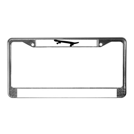 Skateboard License Plate Frame