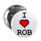"I Heart Rob 2.25"" Button"