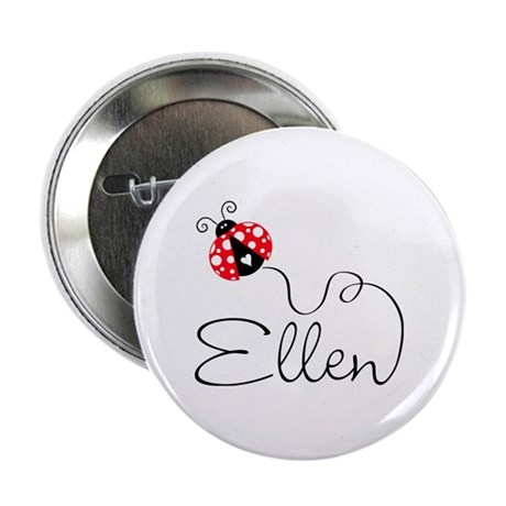 Ladybug Ellen 2.25&amp;amp;quot; Button