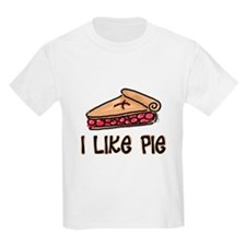 I Like Pie Kids T-Shirt