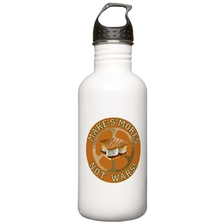 Make Smores Not Wars Stainless Water Bottle 1.0L