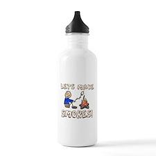 Lets Make SMORES! Sports Water Bottle