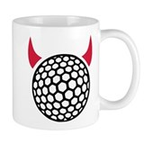 Golf devil Small Mugs
