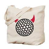 Golf devil Tote Bag