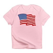 American Flag 4th Of July Infant T-Shirt