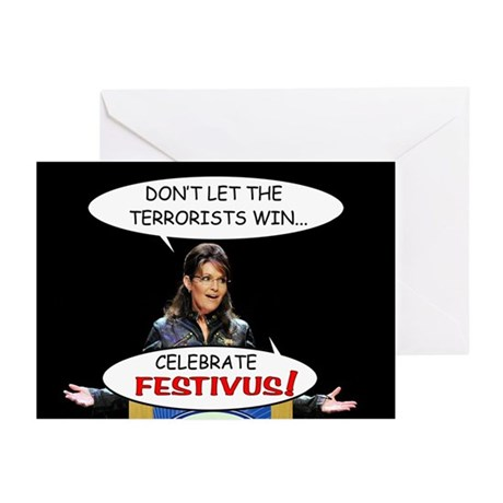 Sarah Palin Festivus Cards (Pk of 10)
