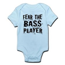 Fear The Bass Player Infant Bodysuit