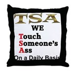 TSA Throw Pillow