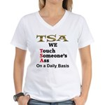 TSA Women's V-Neck T-Shirt