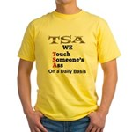 TSA Yellow T-Shirt