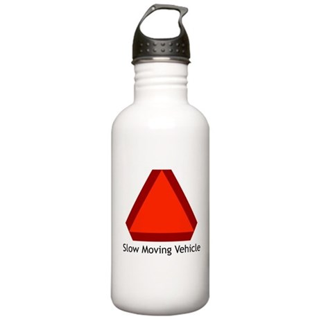 Slow Moving Vehicle 1 Stainless Water Bottle 1.0L