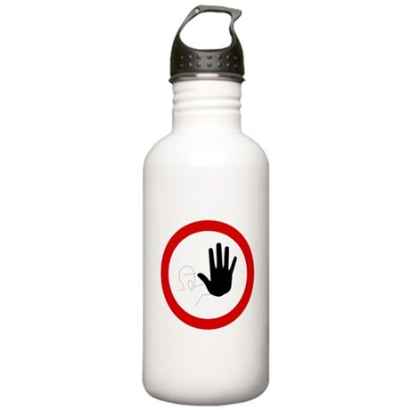 Restricted Access Sign Stainless Water Bottle 1.0L