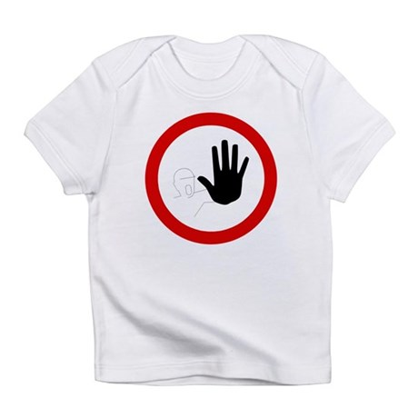 Restricted Access Sign Infant T-Shirt