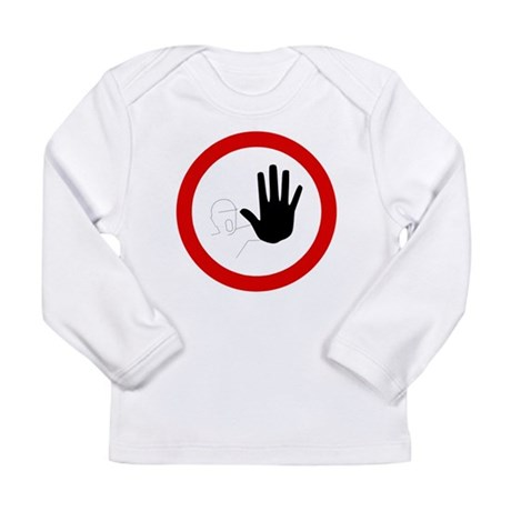 Restricted Access Sign Long Sleeve Infant T-Shirt