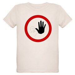 Restricted Access Sign Organic Kids T-Shirt