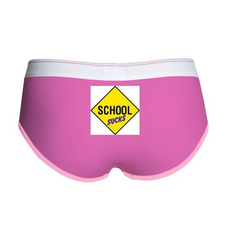 School Sucks Women's Boy Brief