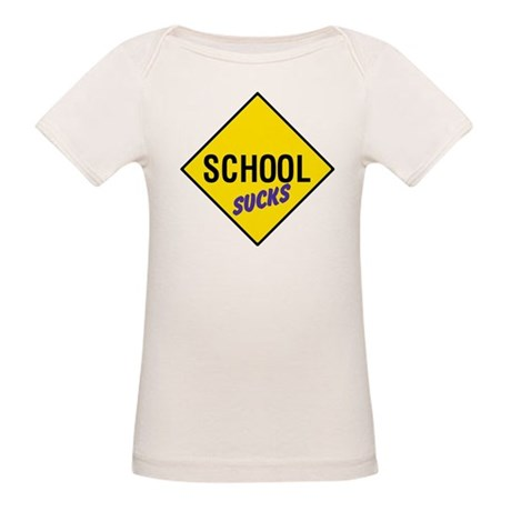 School Sucks Organic Baby T-Shirt