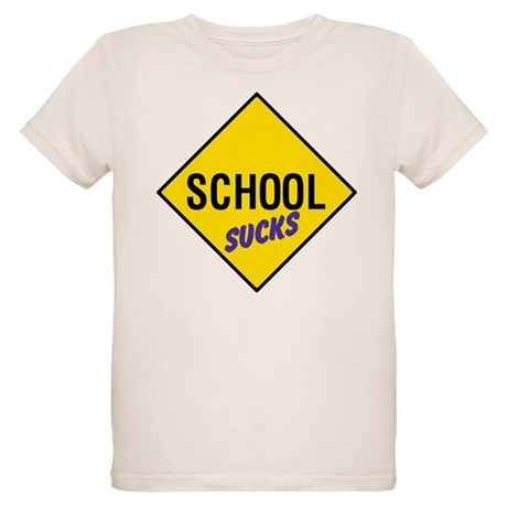 School Sucks Organic Kids T-Shirt