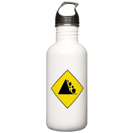 Fallign Rocks Sign Stainless Water Bottle 1.0L