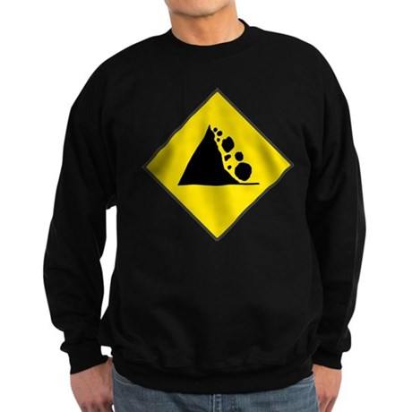 Fallign Rocks Sign Sweatshirt (dark)