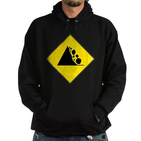 Fallign Rocks Sign Hoodie (dark)