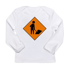 Men at Work 3 Long Sleeve Infant T-Shirt