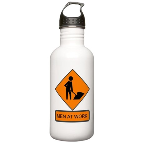 Men at Work 2 Stainless Water Bottle 1.0L