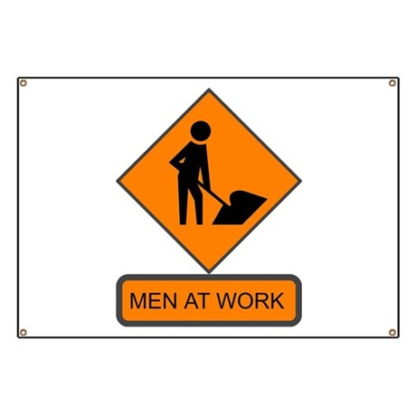 Men at Work 2 Banner
