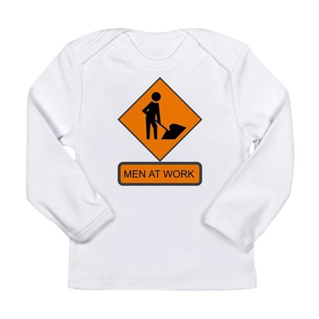 Men at Work 2 Long Sleeve Infant T-Shirt