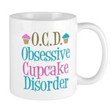 Cute Cupcake Small Mugs