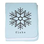 flake baby blanket