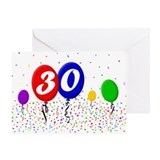 30th Birthday Greeting Card