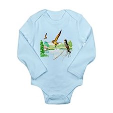Barn Swallow Long Sleeve Infant Bodysuit