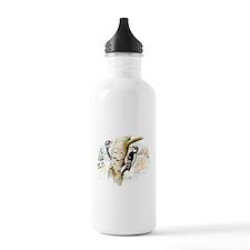 Downy Woodpecker Water Bottle