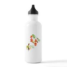 Ruby Throated Hummingbird Water Bottle