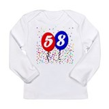 58th Birthday Long Sleeve Infant T-Shirt