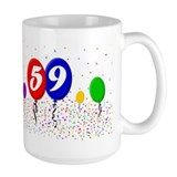59th Birthday  Tasse
