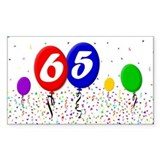 65th Birthday Decal