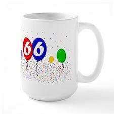 66th Birthday Mug