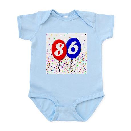 86th Birthday Infant Bodysuit