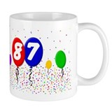 87th Birthday Mug