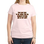 You Can Talk To Me When.... Women's Light T-Shirt