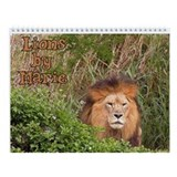 Lion Wall Calendar