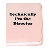 Technical Director baby blanket